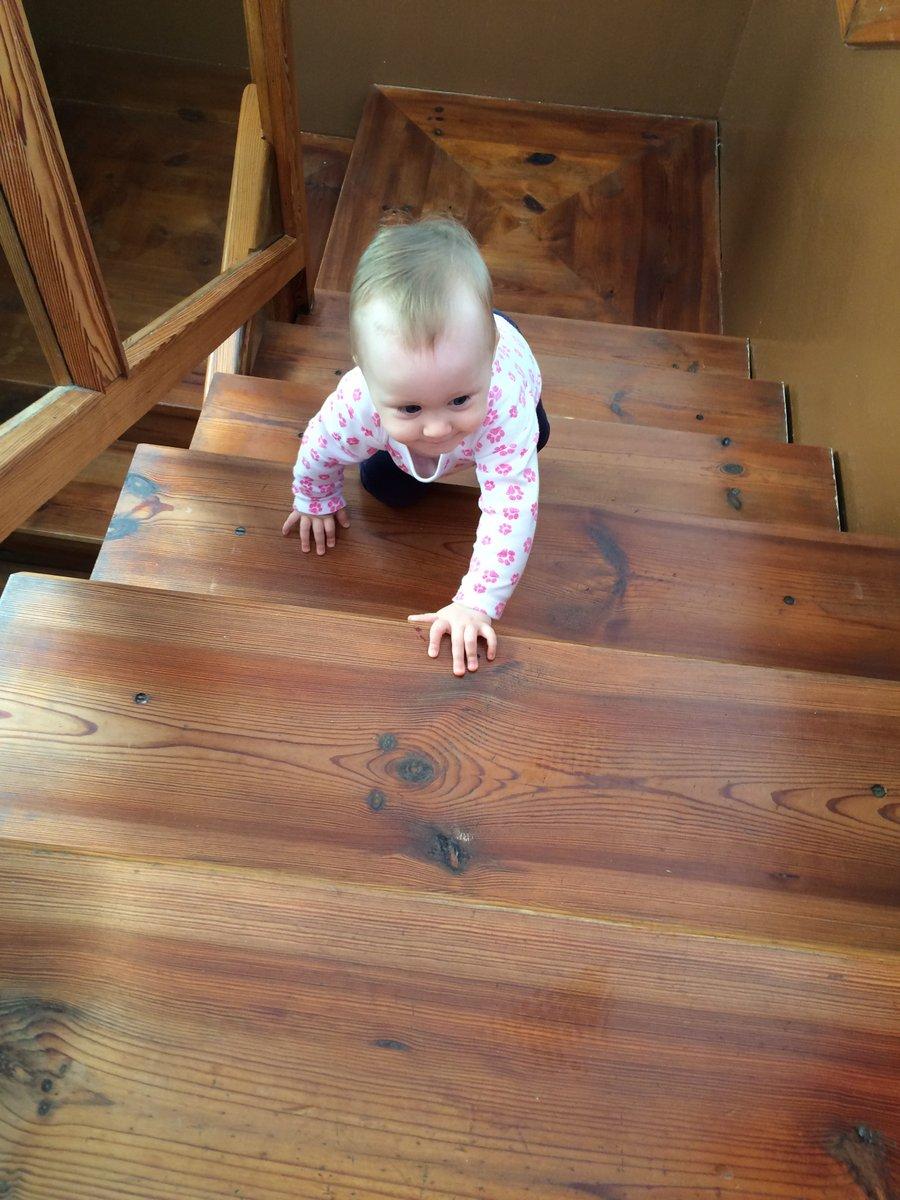 climbing stairs montessori