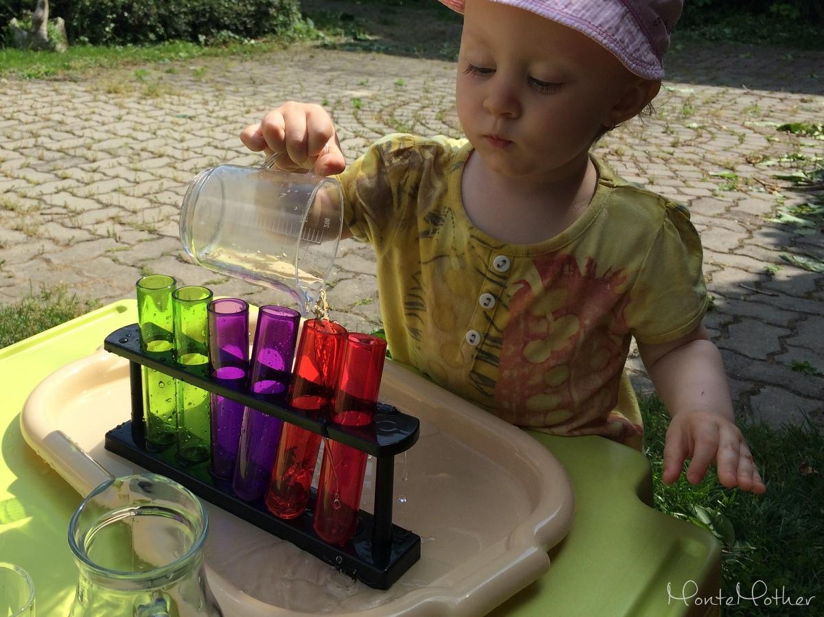 Montessori prelievanie Skúmavky