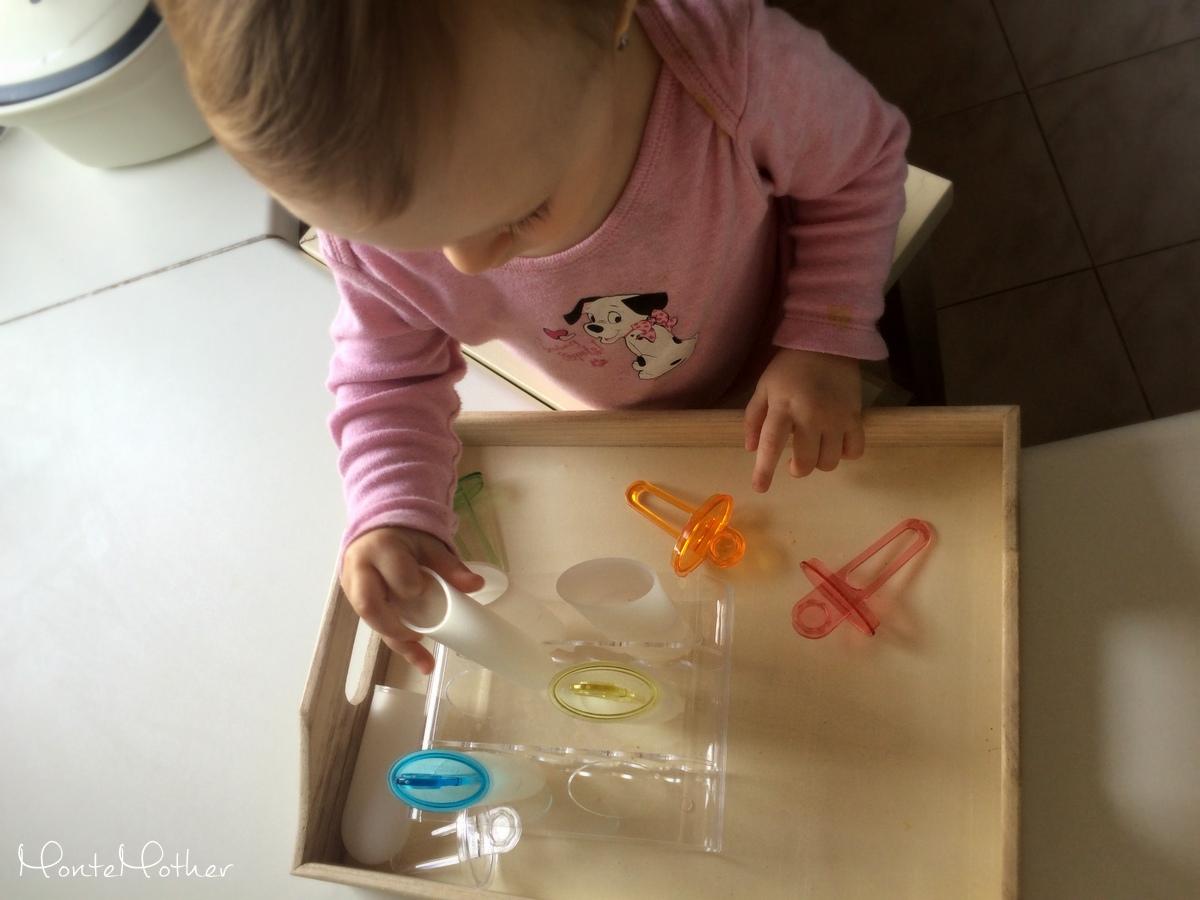 Montessori zastrkovanie a navliekanie - nanukové formy