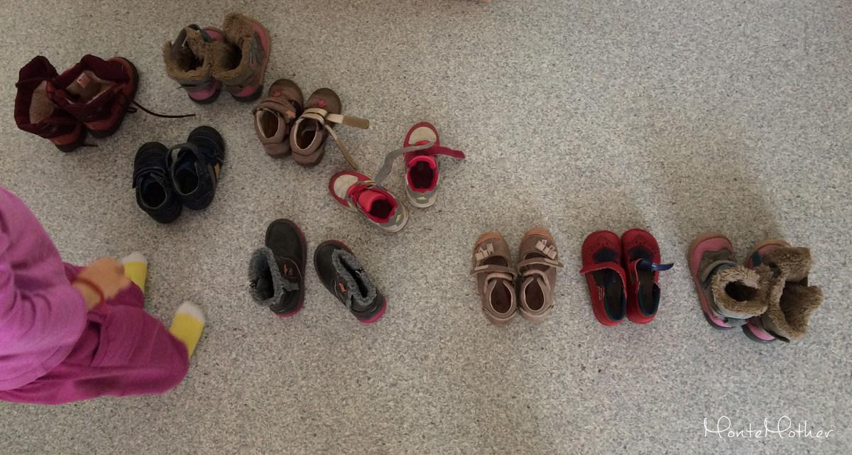 triedenie topánok