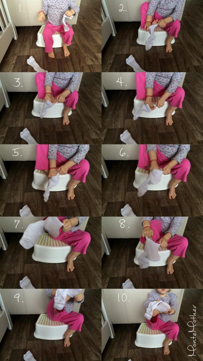 obliekanie ponoziek