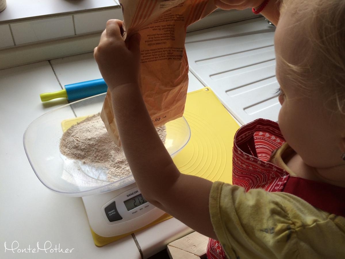 Montessori v kuchyni - pecenie