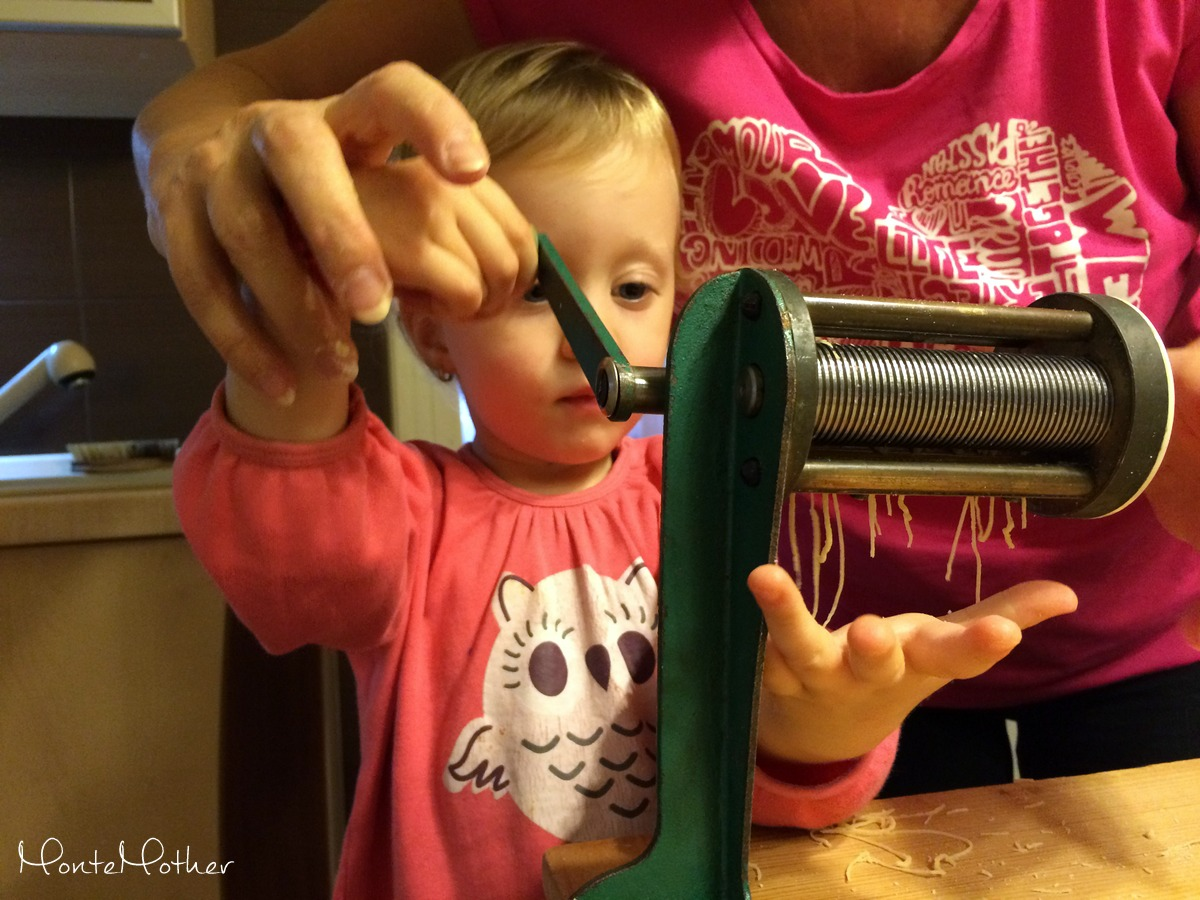 Montessori v kuchyni - sliziky