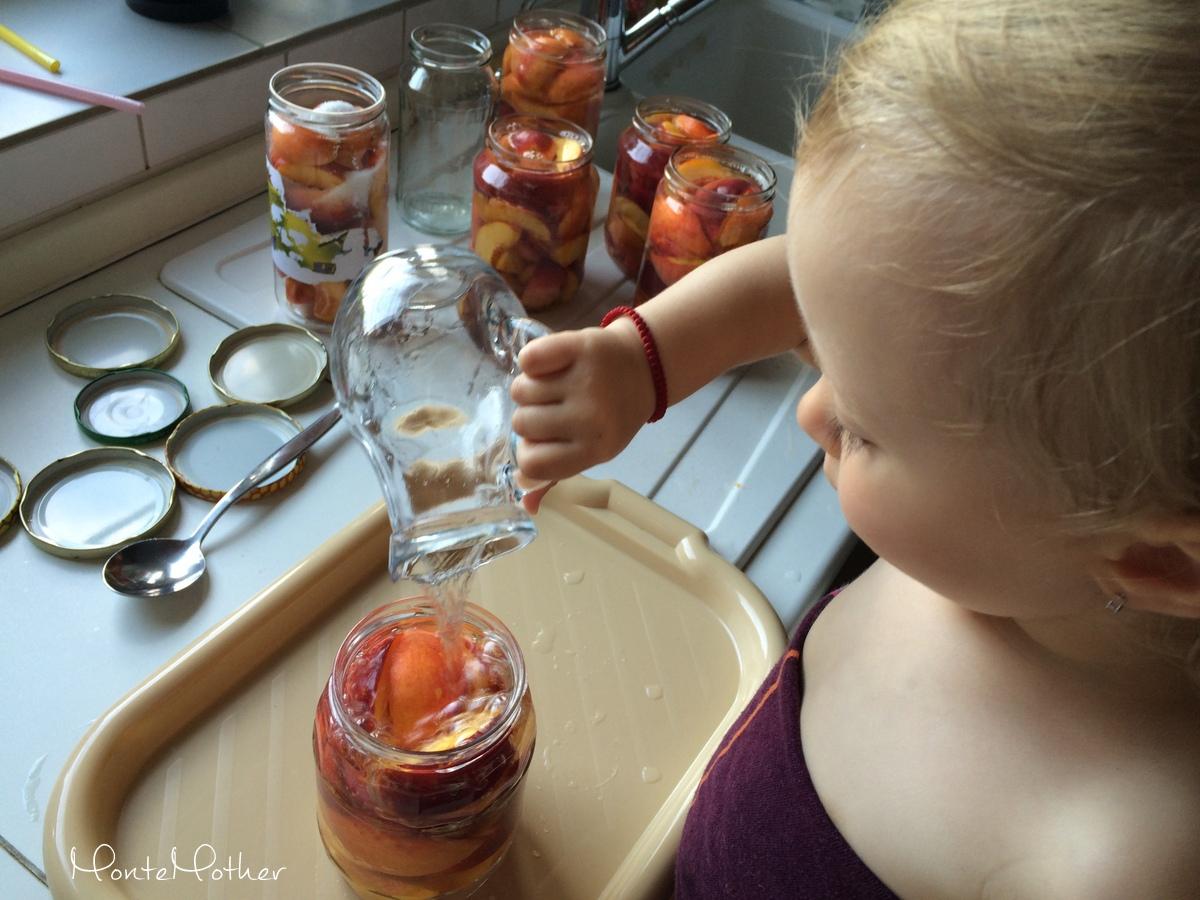 Montessori v kuchyni - zavaranie