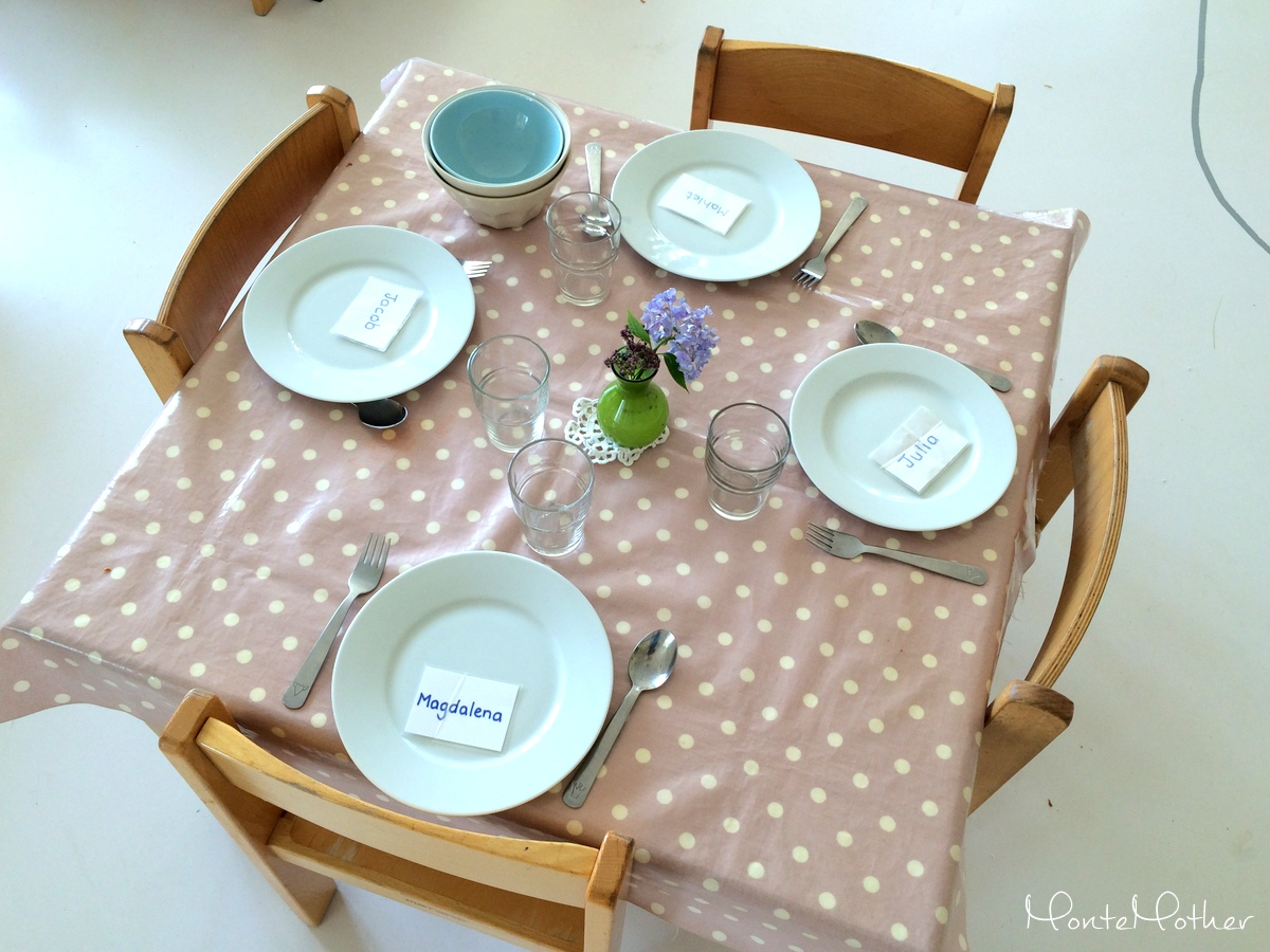 set table