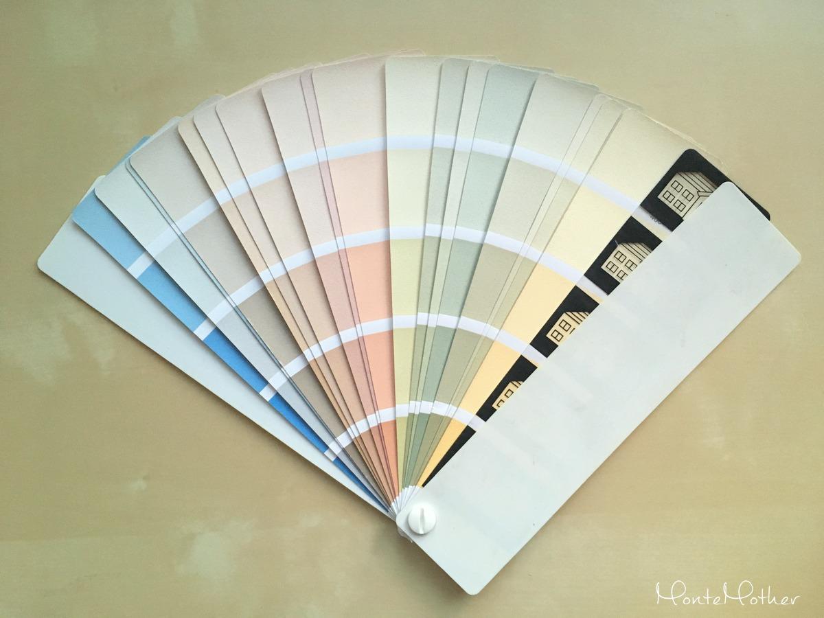 vzorkovnik farieb