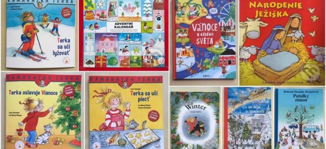 montessori knihy pre deti o zime a vianociach