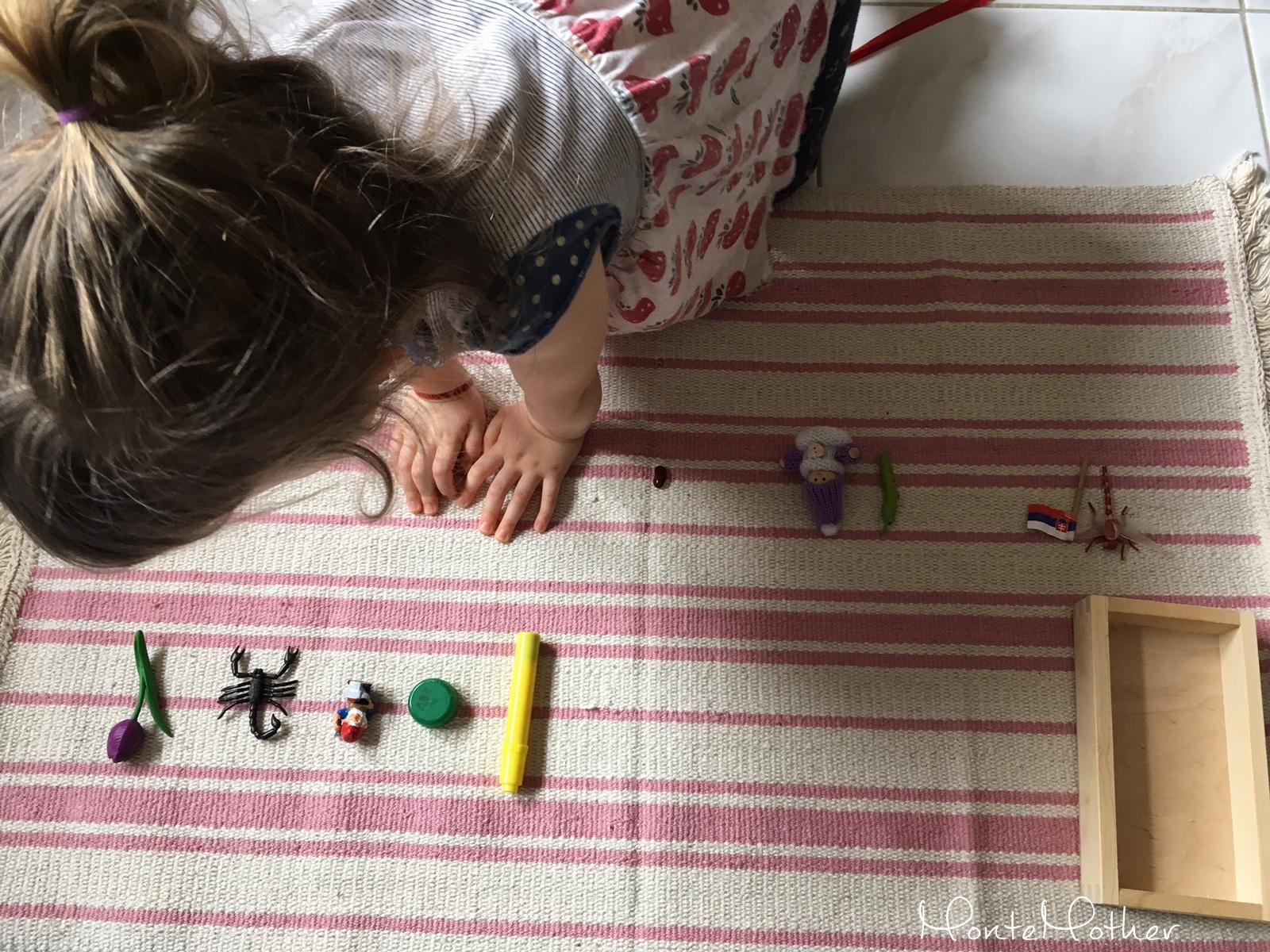 montessori zvukova hra