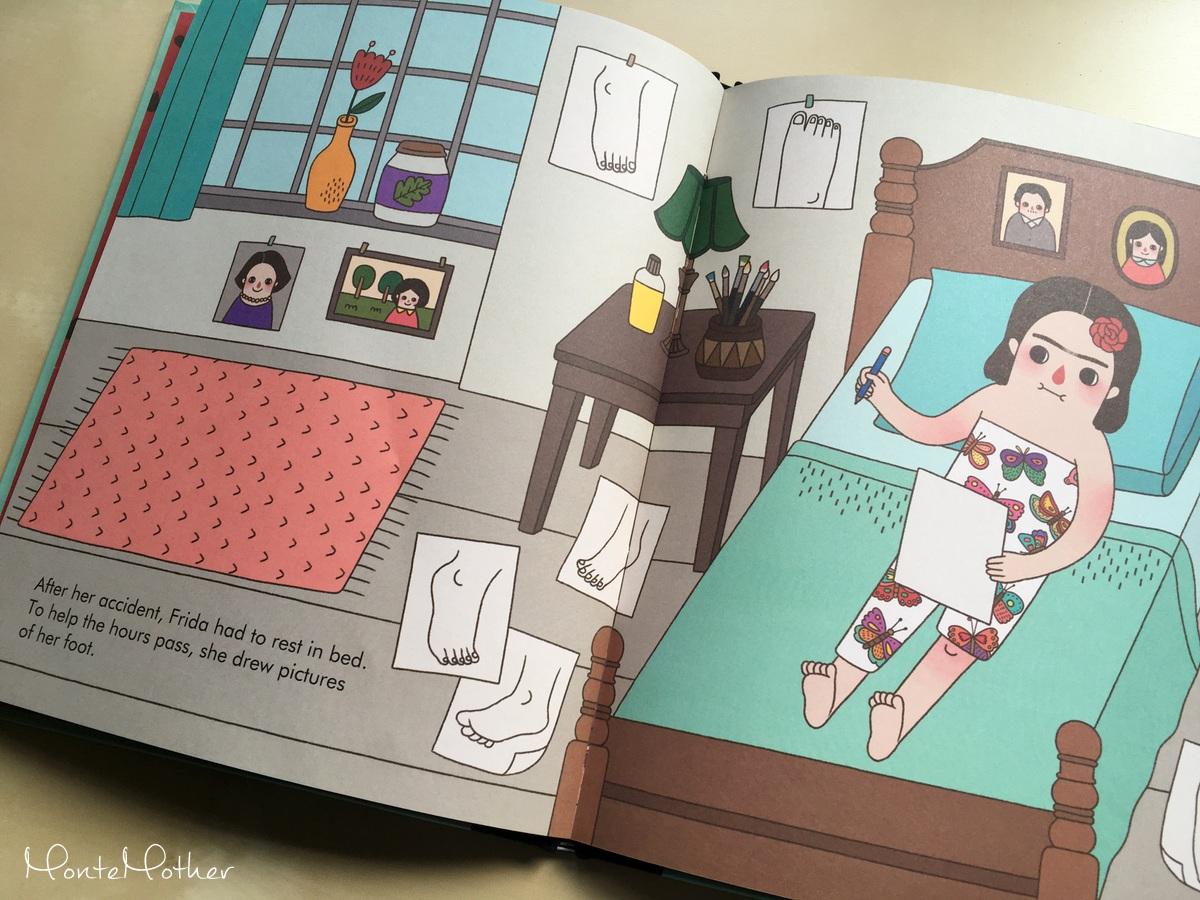 frida kahlo kniha pre deti children book