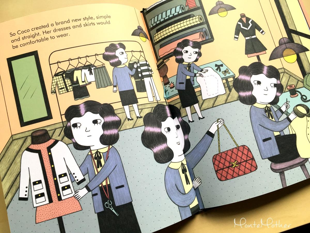 coco chanel knizka pre deti children book