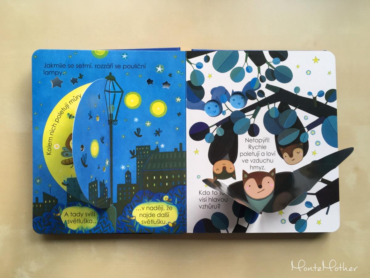 co se deje v noci kniha pre deti