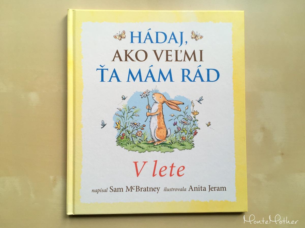 hádaj ako veľmi ta mam rad leto kniha pre deti