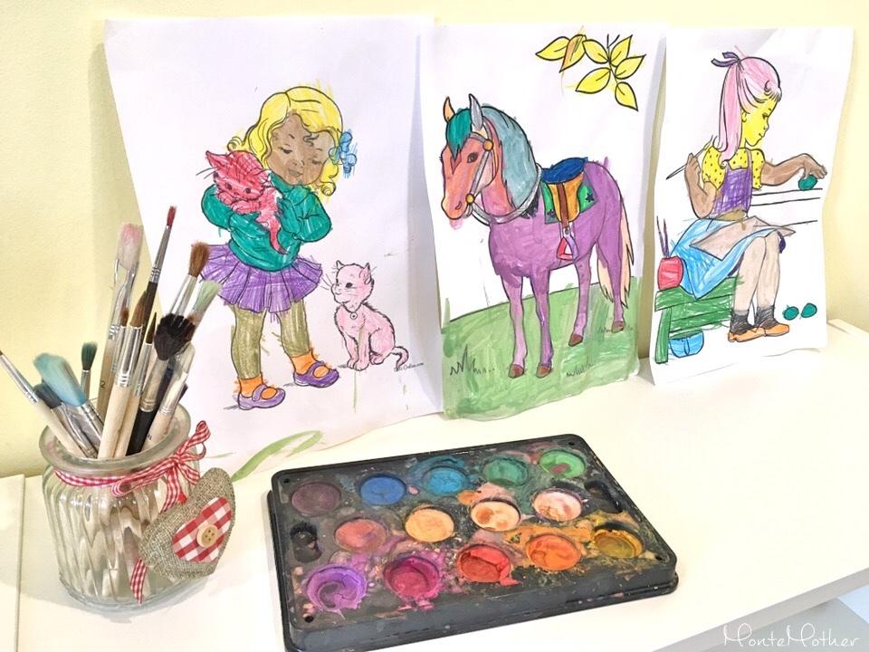 kreslenie a maľovanie