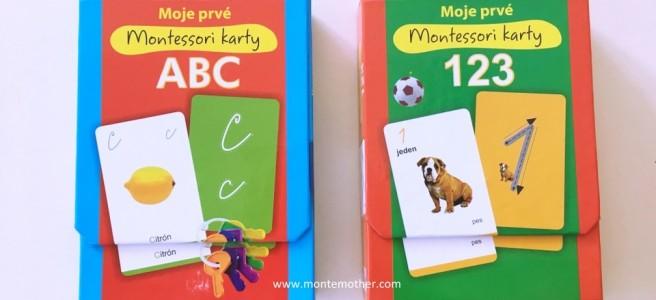 moje prvé montessori karty
