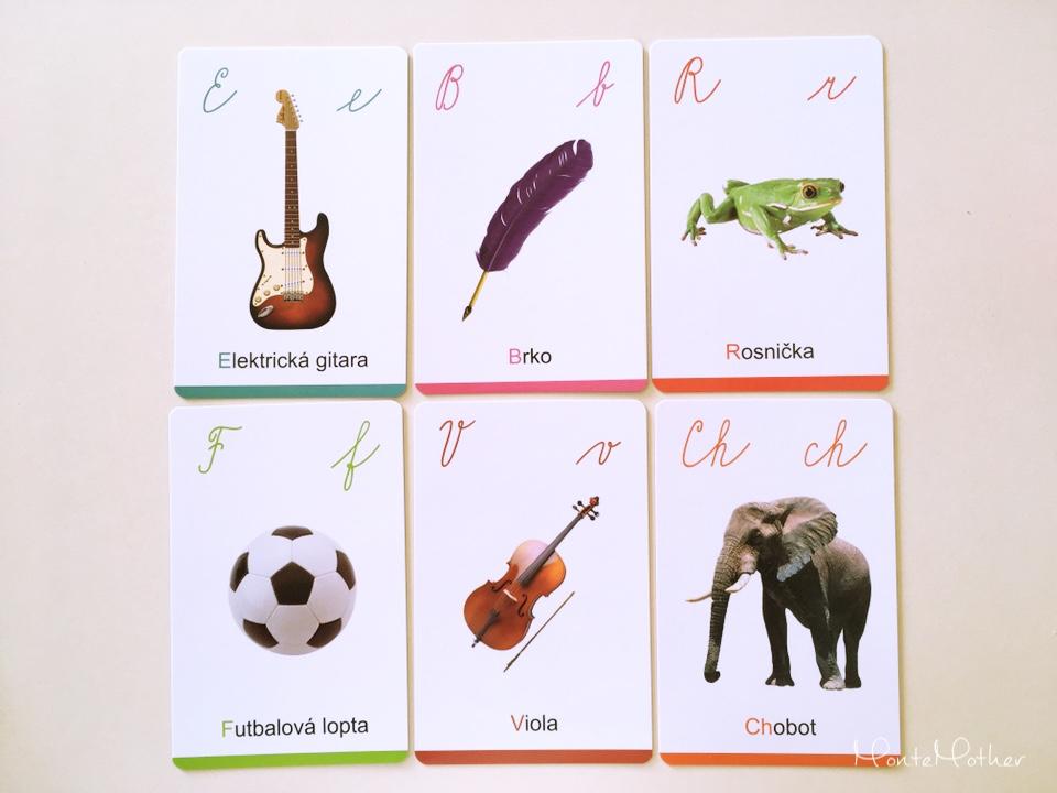 moje prve montessori karty