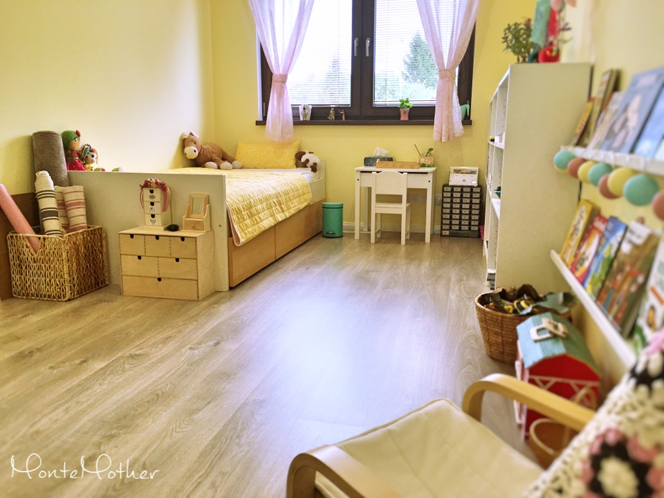 montessori detska Izba child room