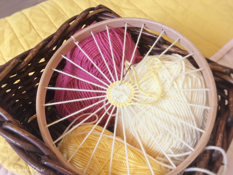kruh na pletenie